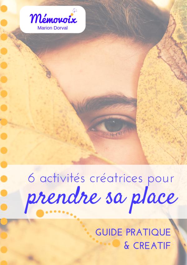 6 activités créatrices pour prendre sa place HPI phobie sociale